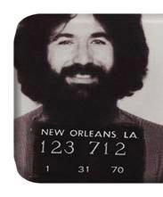 Jerry Garcia comments on the 1970 New Orleans Bust