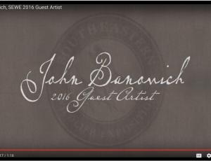 John Banovich: 2016 Southeastern Wildlife Exposition, Guest Artist