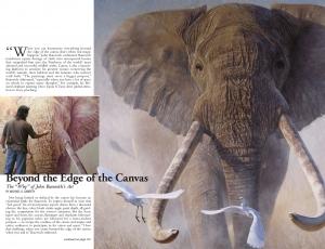 "Safari Magazine: The ""Why"" of John Banovich's Art"