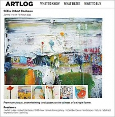 Robert Baribeau on Artlog.com
