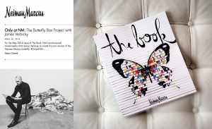 """Neiman Marcus selects James Verbicky for """"The Book"""""""