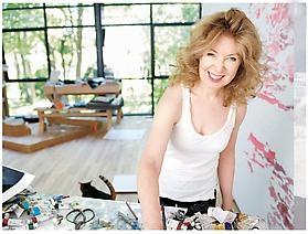 April Gornik featured in Hamptons-Magazine