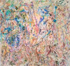 Ecstatically Chromatic: Larry Poons & Syd Solomon   Hamptons Art Hub