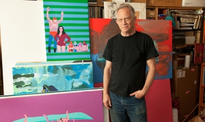 Gary Panter at Fredericks & Freiser in Blouin Artinfo