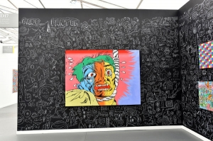 Gary Panter at Frieze New York in The New York Times