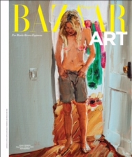 Jenna Gribbon on the cover of Harper's Bazaar Arts Latin America