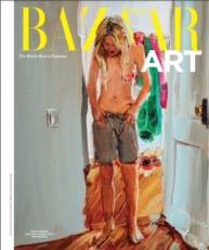 Jenna Gribbon on the cover of Harper's Bazaar Arts Latin America