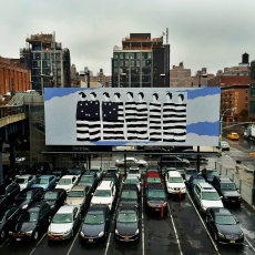 John Wesley is next up on the High Line Billboard, ARTnews