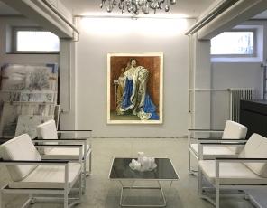 """""""Ludwig II"""" finally being shown in Munich at galerie Filser und Gräf"""