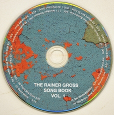 THE RAINER GROSS SONG BOOK VOL.1