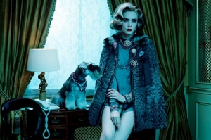 PRESS: Miles Aldridge in the New York Times
