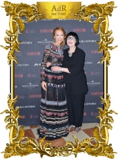 Roxanne Lowit documentary presented at a Vanity Fair party in Venice