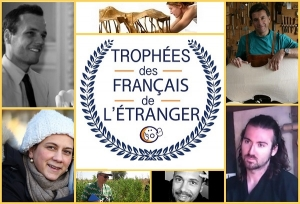 Val awarded 'Les Trophées des Francais de l'étranger'