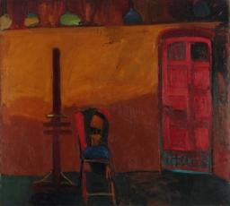 Joan Brown, 'Studio 15, Portrait of a Chair' 1958