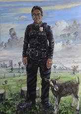 Amer Kobaslija, After Watteau II 2018