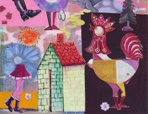 Martin Mannig - Folkfuturism @Aishonanzuka gallery, Hong Kong