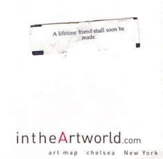 intheArtworld article