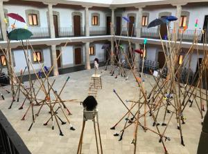 Simphiwe Ndzube's 'The Rain Prayers' installation opens at Museo Kaluz