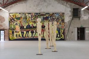 Moffat Takadiwa in 'KUBATANA' at Vestfossen Kunstlaboratorium, Oslo