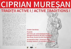 Ciprian Muresan 'Tradiții active I' at the Muzeul de Artă Cluj-Napoca