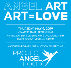Simphiwe Ndzube for Project Angel Art's ART=LOVE 2019 Benefit