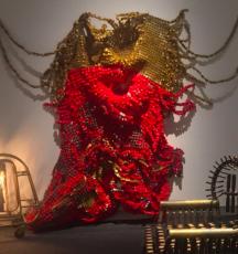 Moffat Takadiwa featured in 'Ex Africa – storie e identità di un'arte universale' at the Museo Civico Archeologico, Bologna