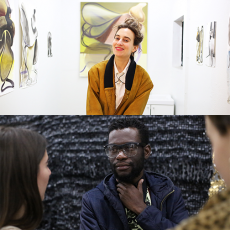 Katherina Olschbaur and Moffat Takadiwa now represented by Nicodim Gallery