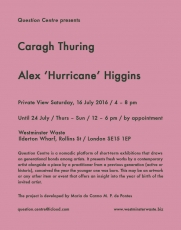 Caragh Thuring at Question Centre