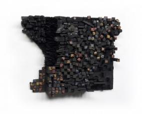 "Leonardo Drew in ""Accidents (Part II)"" at Pearl Lam Galleries Hong Kong"