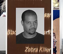 Gary Simmons in Black Eye Art