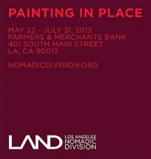 Sarah Cain, Barnaby Furnas, Kate Shepherd and Gary Simmons will be included in Painting in Place at LAND