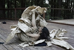 Janine Antoni at the Fabric Workshop