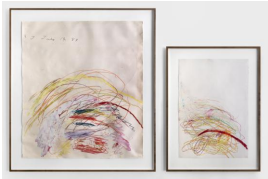 """Gary Simmons in """"The Tissue of Memory"""" at Simon Lee Gallery"""