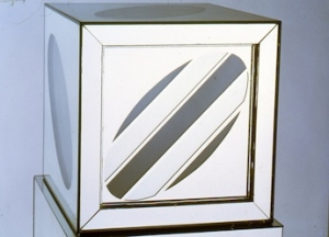 """""""Larry Bell: Cubic Propositions"""" at the Harwood Museum of Art"""