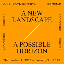 Donald Moffett in the 2021 Texas Biennial: A New Landscape, A Possible Horizon