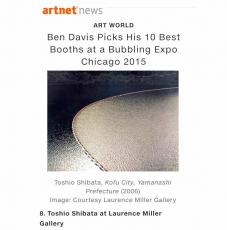 EXPO CHICAGO 2015 - ARTNET TOP 10