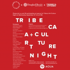 Tribeca Art+Culture Night : 4th Edition