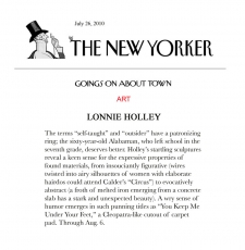 Goings On About Town: Lonnie Holley
