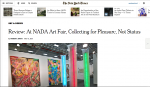 At NADA Art Fair, Collecting for Pleasure, Not Status