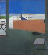 Matisse and Diebenkorn reflected in each other's paintings at SFMOMA