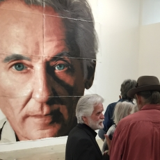 Whitewashed Portrait Mural of Ed Ruscha Will Be Reborn, Older and Wiser