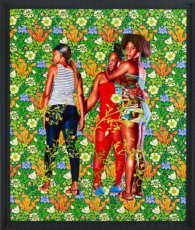 Kehinde Wiley in A Material Legacy: The Nancy A. Nasher and David J. Haemisegger Collection of Contemporary Art
