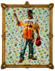 Kehinde Wiley in Turn the Page: The First Ten Years of Hi-Fructose