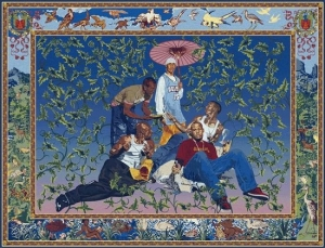 Kehinde Wiley in RESPECT: Hip-Hop Style & Wisdom