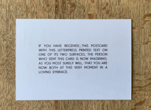 Peter Liversidge in Wish You Were Here: 151 Years of the British Postcard