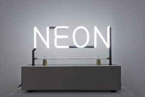 Joseph Kosuth in NEON: The Charged Line