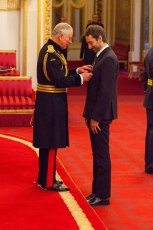Idris Khan appointed Officer of the Order of the British Empire (OBE)