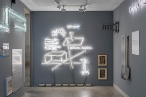 'Plays of / for a Respirateur' An Installation by Joseph Kosuth