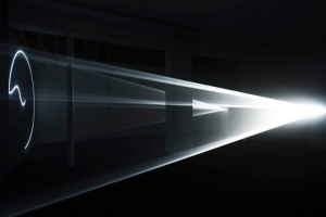 Anthony McCall: Leaving (With Two-Minute Silence)