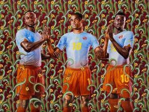 Kehinde Wiley in All Things Being Equal...